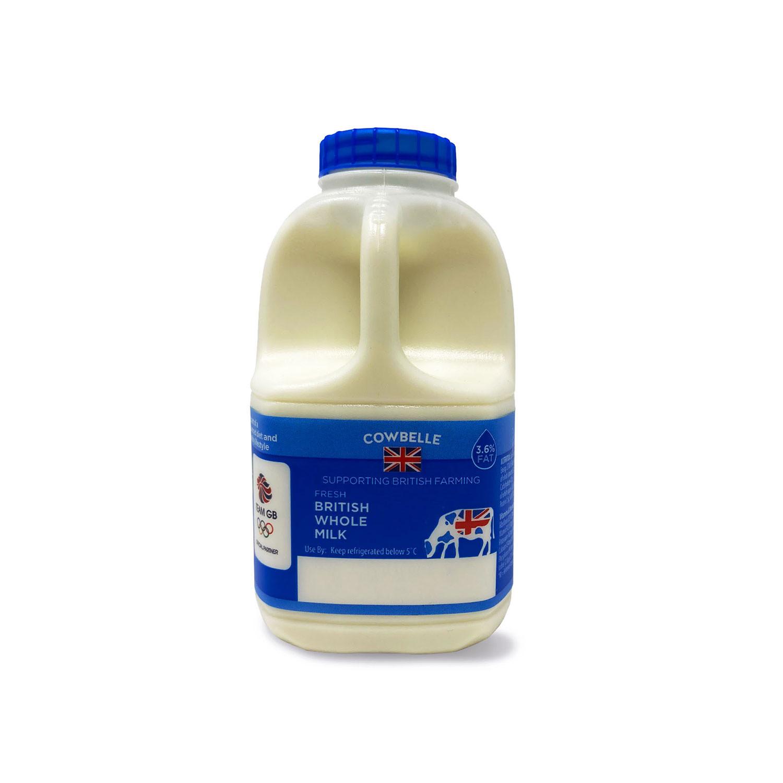 Fresh British Whole Milk