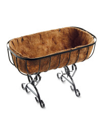 Decorative Cradle Planter