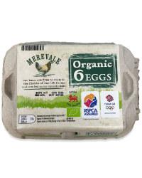 6 Mixed Weight Organic Eggs