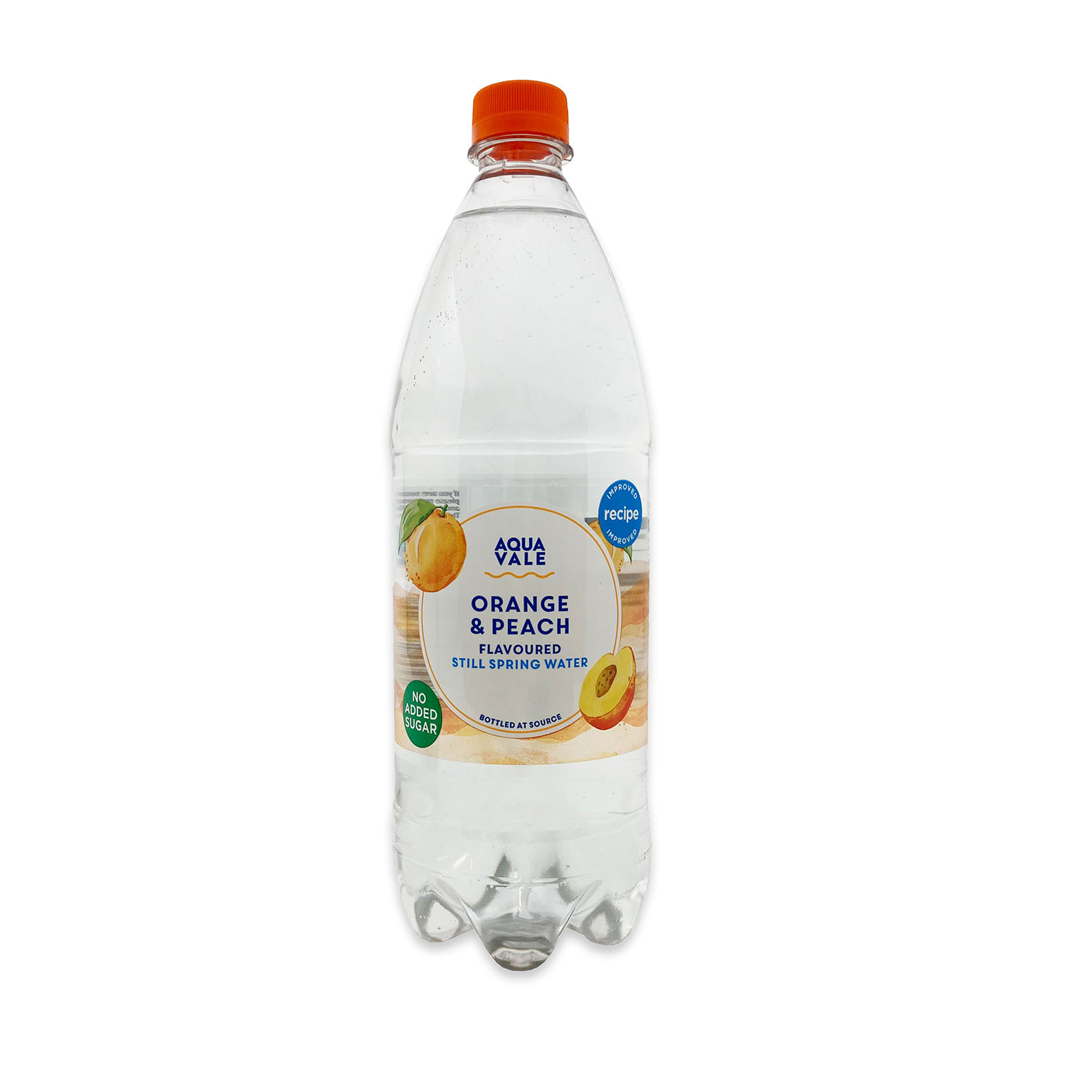 Orange &Peach Flavoured Spring Water