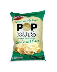 Pop Outs Popped Potato Chips Sour