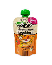 Mango & Peach Breakfast Pouches