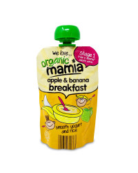 Apple & Banana Breakfast Pouches