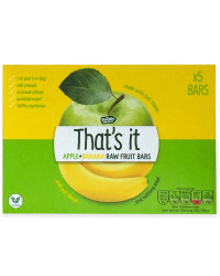 Apple & Banana Raw Fuit Bars