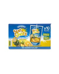 Fruity Tropical Blast Juice Drink
