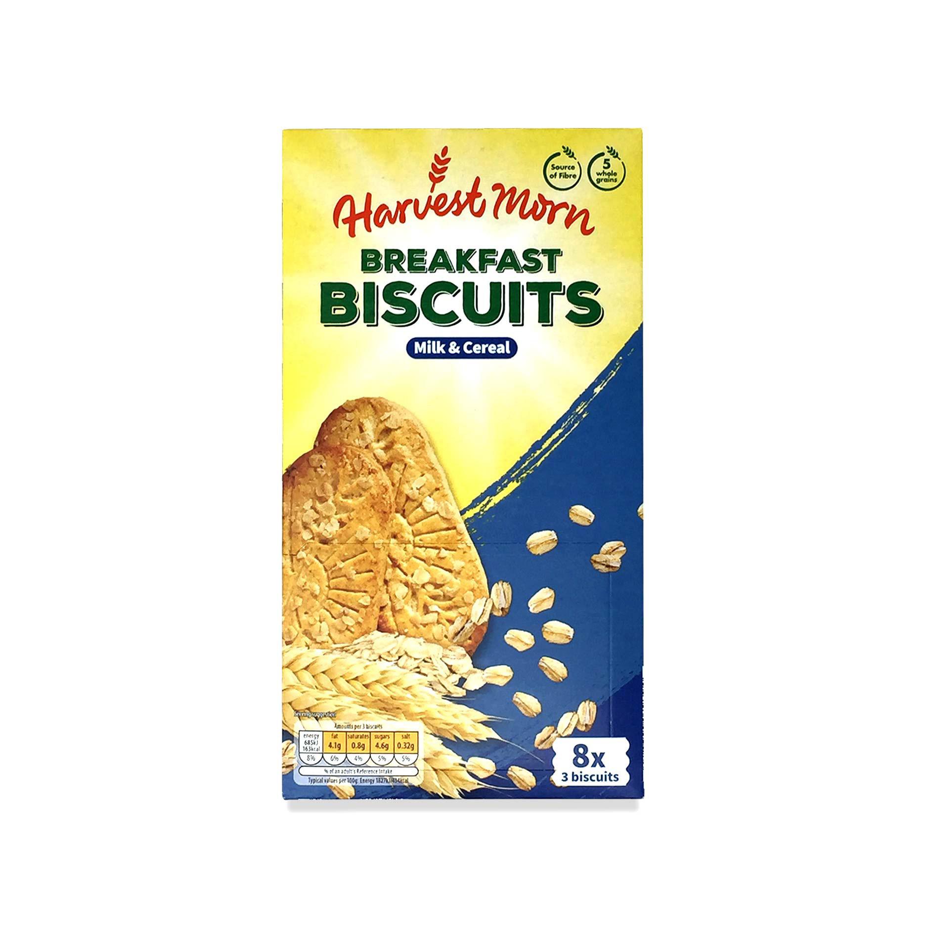 Breakfast Biscuits Milk & Cereal