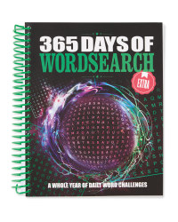 Extra 365 Days Of Wordsearches Book