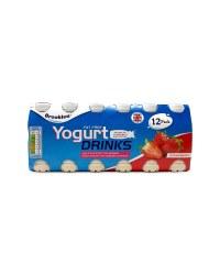 12 Fat Free Yogurt Drinks Strawberry