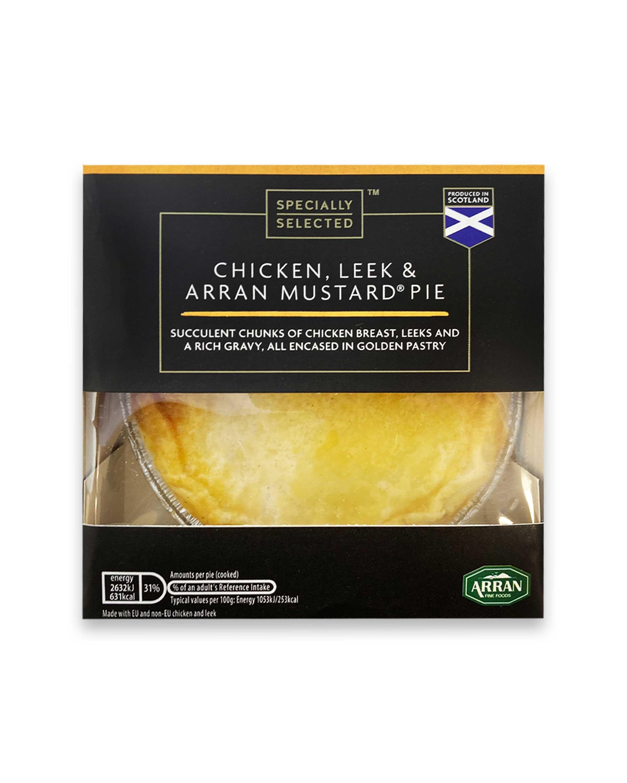 Chicken, Leek & Arran Mustard® Pie