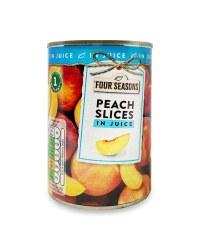 Peach Slices In Juice 410g