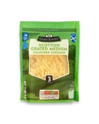 Scottish Grated Medium Cheddar