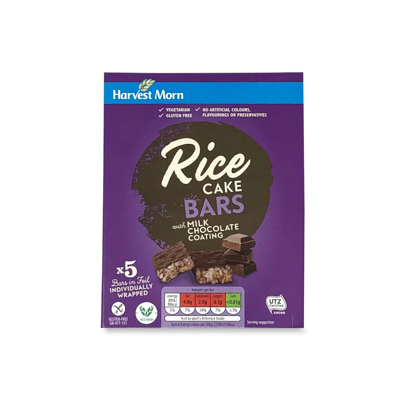 Rice Cake Bars With Milk Chocolate