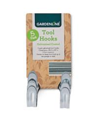 Gardenline Galvanised Tool Hooks