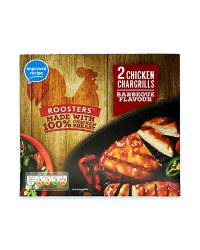 2 Chicken Chargrills BBQ Flavour