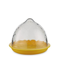 Lemon Food Storage Pod - Clear