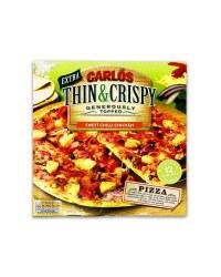 Thin & Crispy Chilli Chicken Pizza