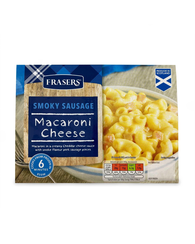 Smoked Sausage Macaroni Cheese