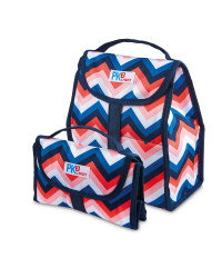 Zig-Zag Freezable Lunch Sack