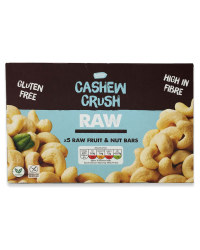 Cashew Crush Raw Fruit & Nut Bars