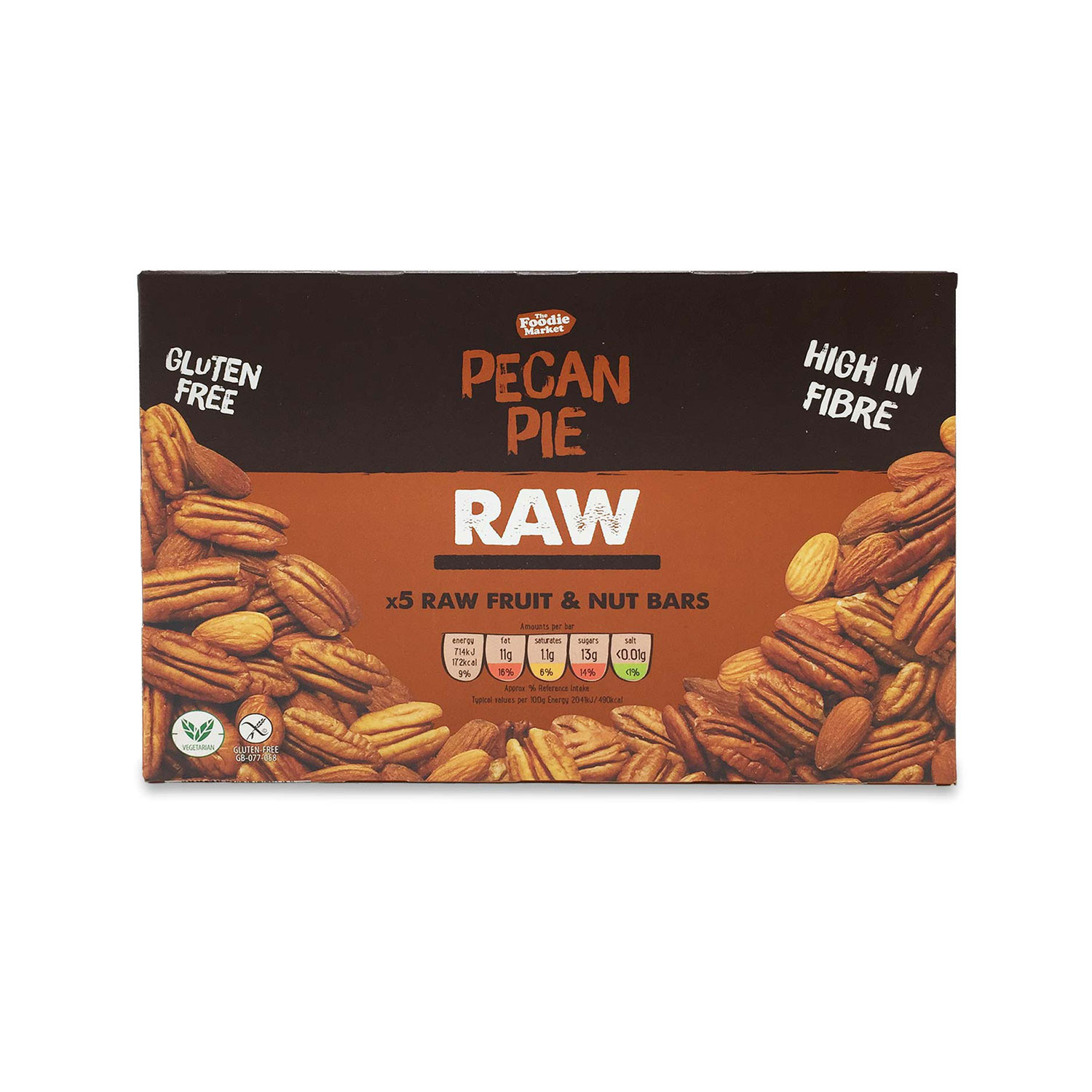 Pecan Pie Raw Fruit & Nut Bars