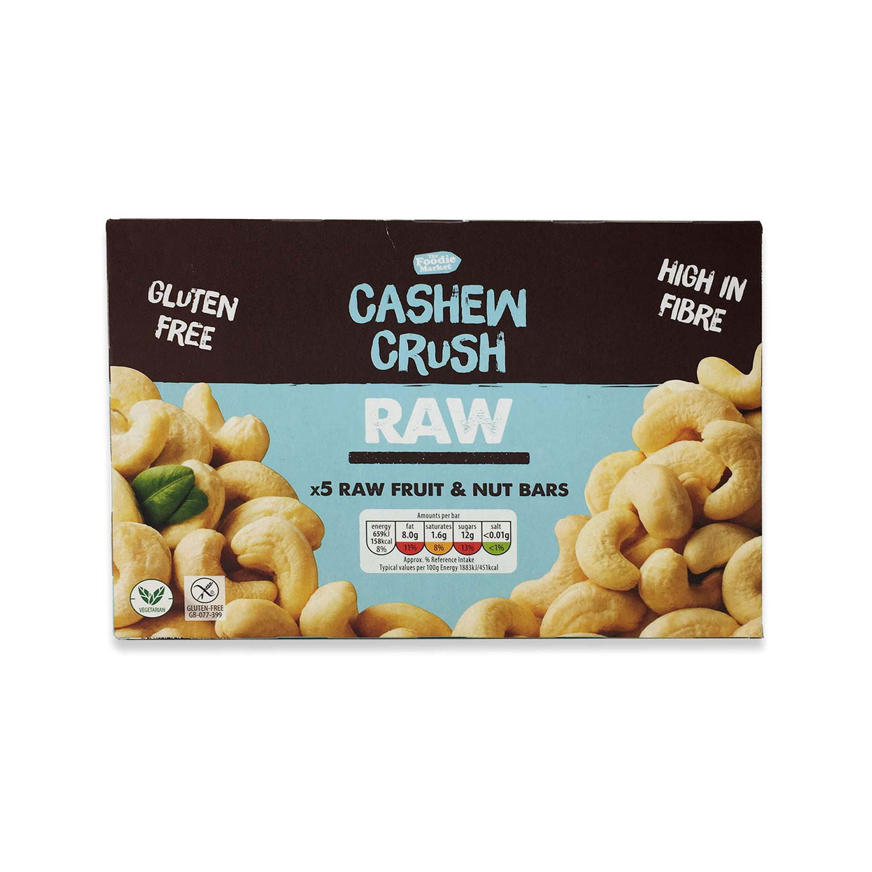 Cashew Crush Raw Fruit & Nut Bars