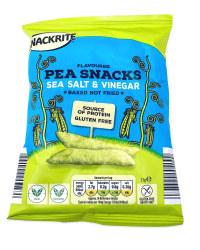 Sea Salt & Vinegar Pea Snacks