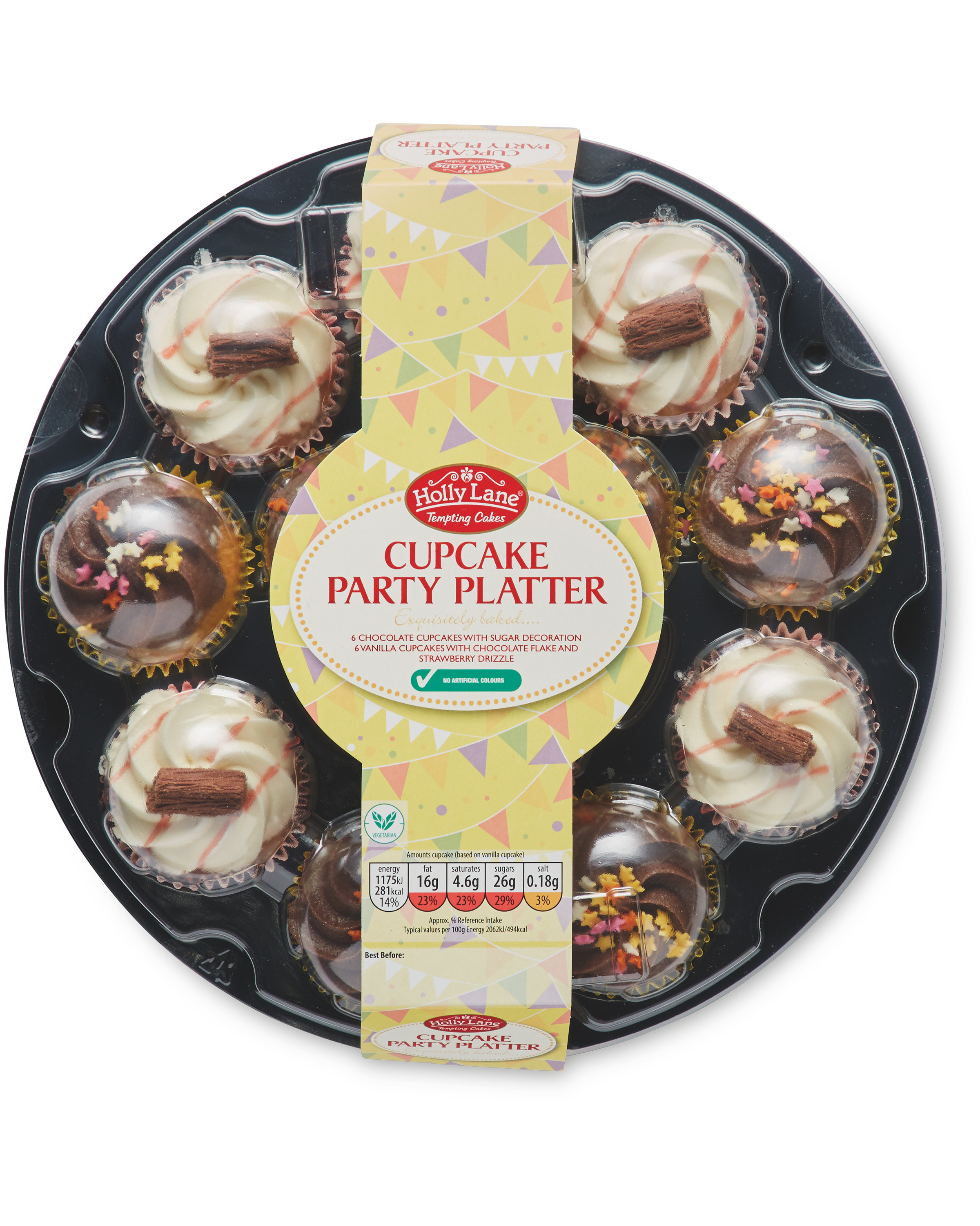 Cupcake Party Platter