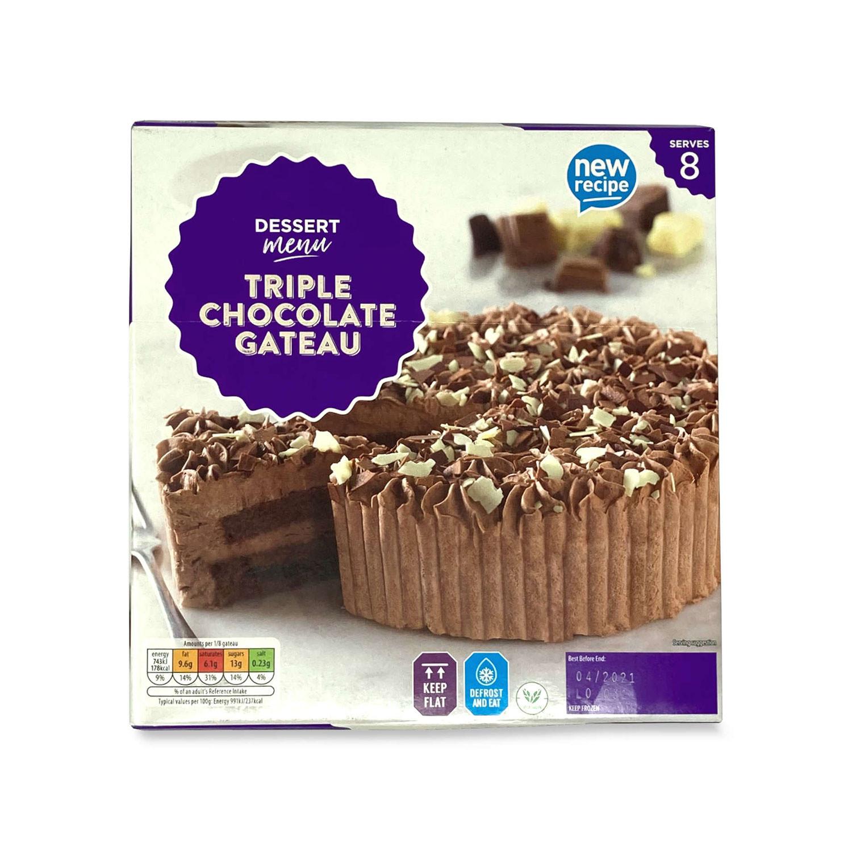 Triple Chocolate Gateau Aldi Uk
