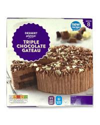 Triple Chocolate Gateau