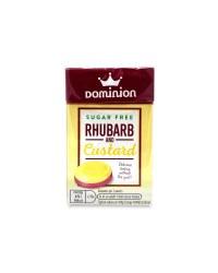 Sugar Free Rhubarb And Custard