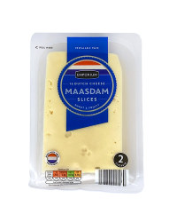 Maasdam Cheese Slices