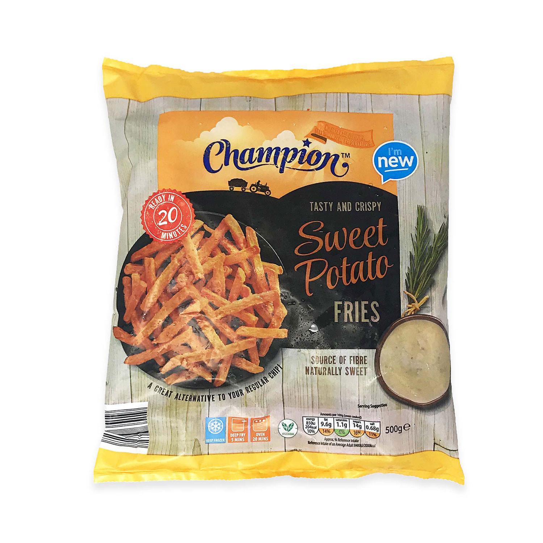 Tasty And Crispy Sweet Potato Fries