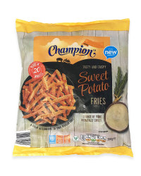 Tasty And Crispy Sweet Potato Fries