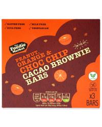 Orange Choc Chip Raw Cacao Bars