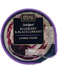 Blueberry And Blackcurrant Yogurt