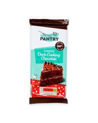 Luxury Dark Cooking Chocolate