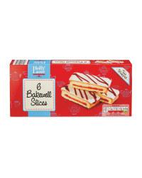 Bakewell Cake Slices