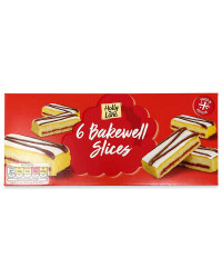6 Bakewell Slices