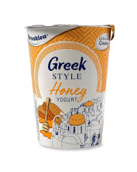 Greek Style Honey Yogurt
