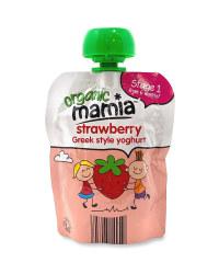 Organic Strawberry Greek Style Yog