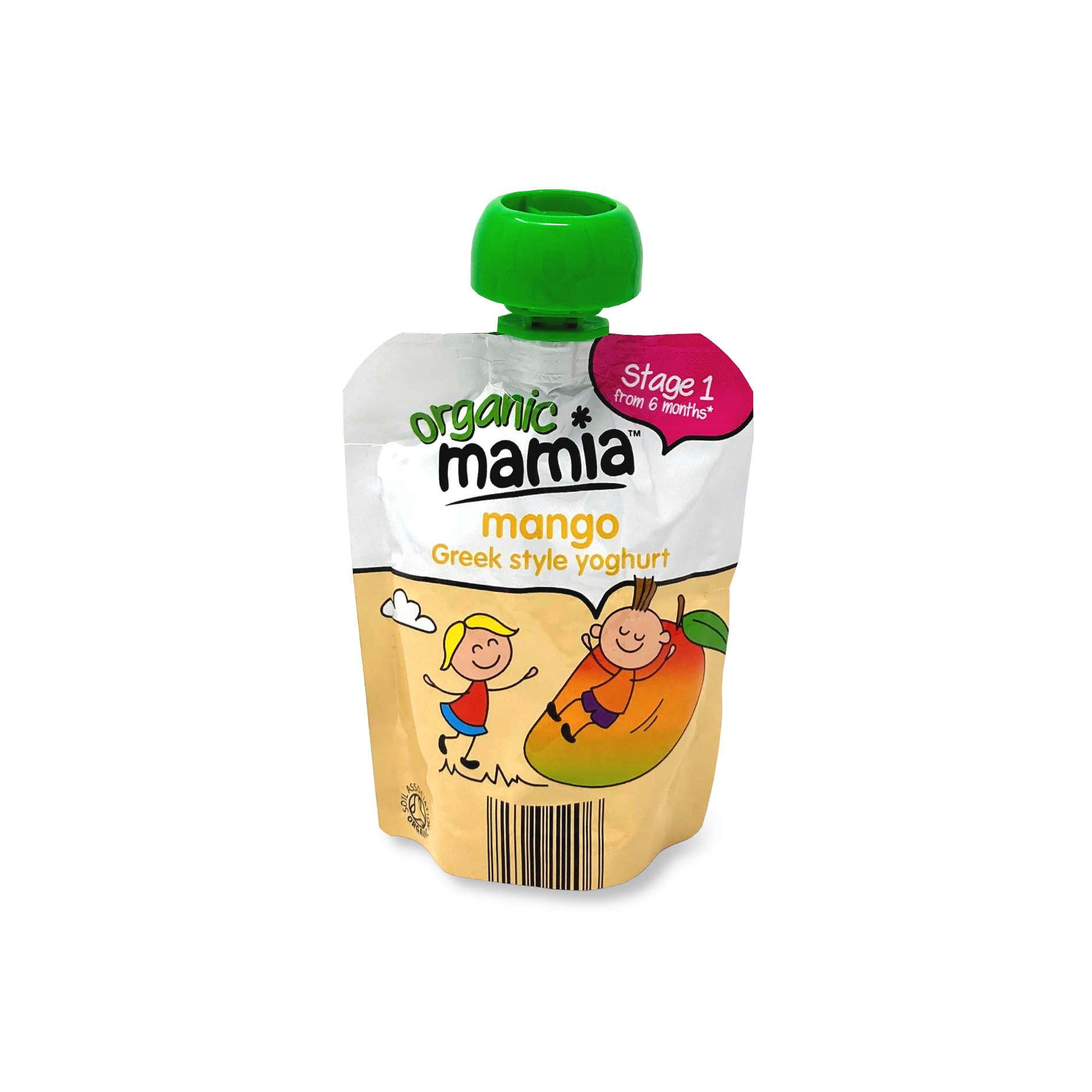Organic Mango Greek Style Yoghurt