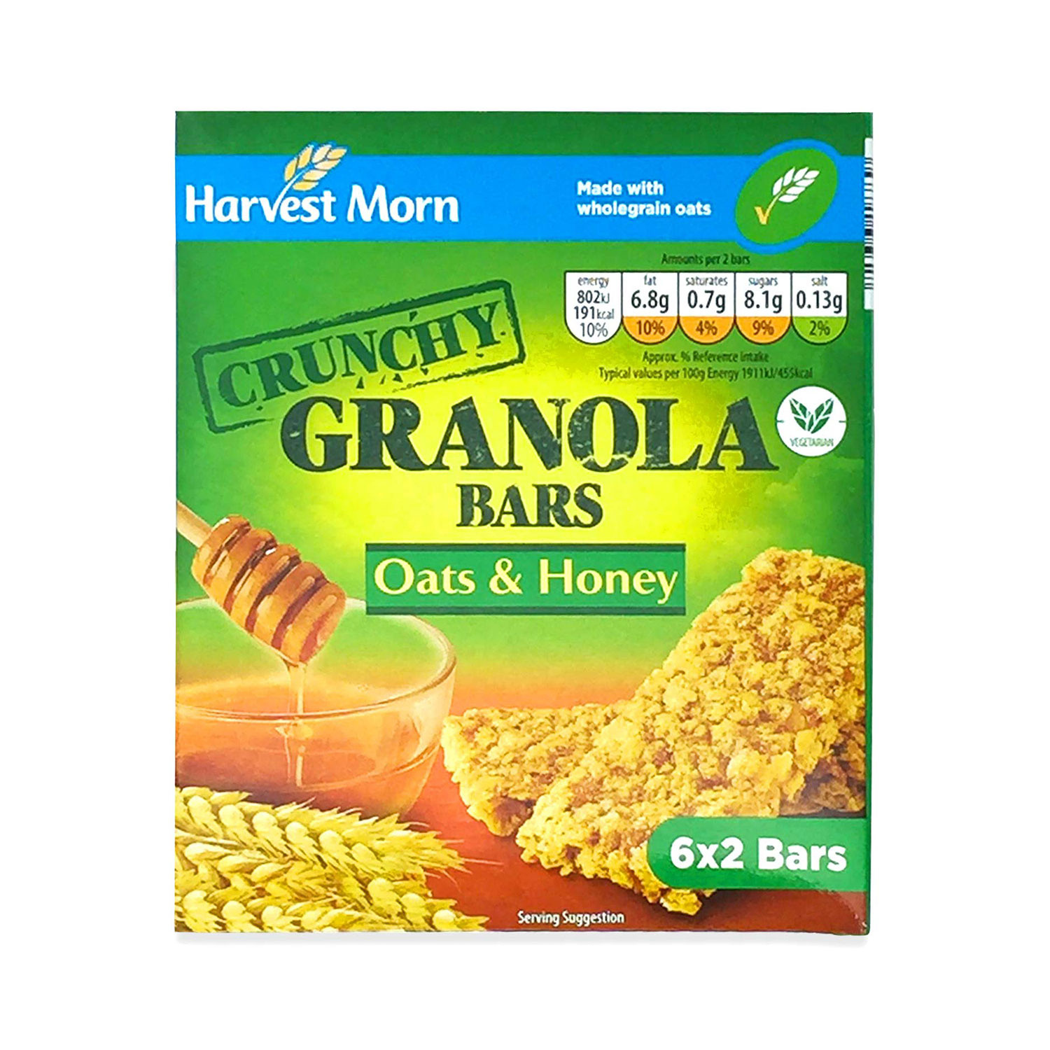 Crunchy Granola Bars Oats And Honey