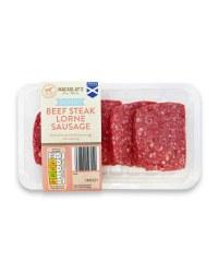 Skinny Beef Steak Lorne Sausage