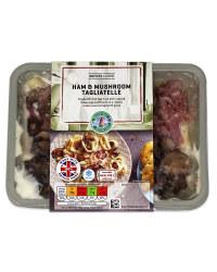 Ham & Mushroom Tagliatelle