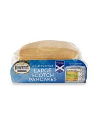 Buttermilk Large Scotch Pancakes