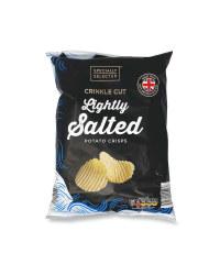 Crinkle Cut Lightly Salted Crisps