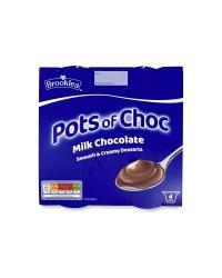 Dessert Pots Chocolate