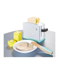 Wooden Toaster 11-Piece Set