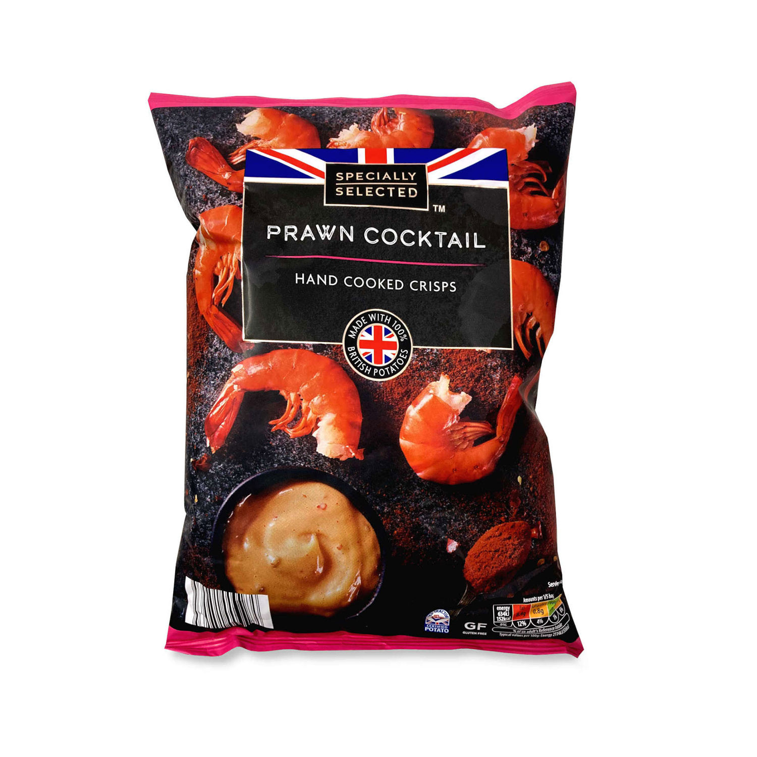 Prawn Cocktail Hand Cooked Crisps