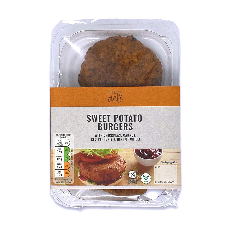Veggie Burgers Sweet Potato